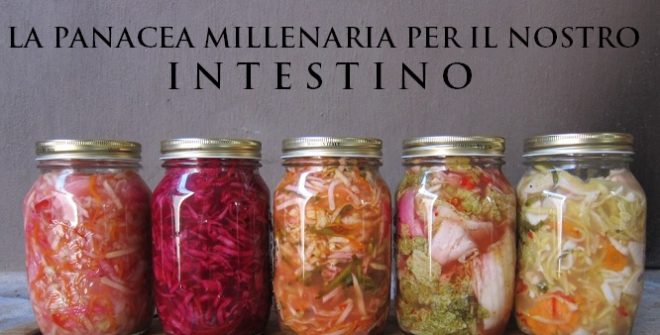 Le verdure fermentate: panacea per il nostro intestino!