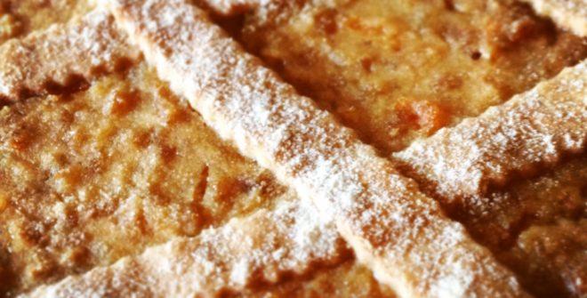 Pastiera rivisitata senza glutine e senza zucchero