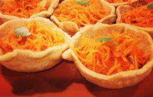 I Cestini della Felicità. Pasta sfoglia con insalatini