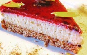 Una cheese cake senza cheese? Naturalmente cake… senza zucchero