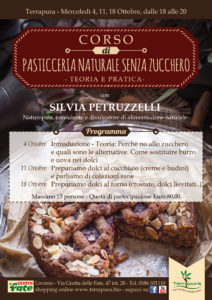 Livorno. Corso di Pasticceria Naturale senza zucchero @ Terrapura  | Livorno | Toscana | Italia