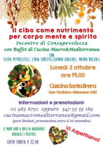 Il cibo come nutrimento di corpo mente e spirito @ Agriturismo Cascina Santa Brera  | San Giuliano Milanese | Lombardia | Italia