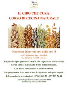 Svizzera. Il Cibo che cura. Corso con buffet @ PURO design Sagl - FoodLab | Locarno | Ticino | Svizzera