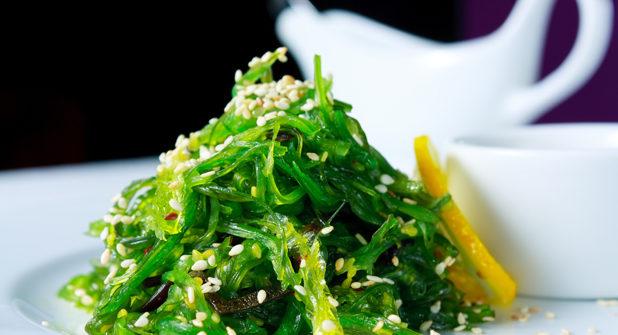Quando l'aiuto viene dal cibo: le alghe