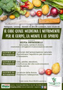 Livorno. Il cibo come medicina e nutrimento per corpo, mente e spirito @ Terrapura | Livorno | Toscana | Italia