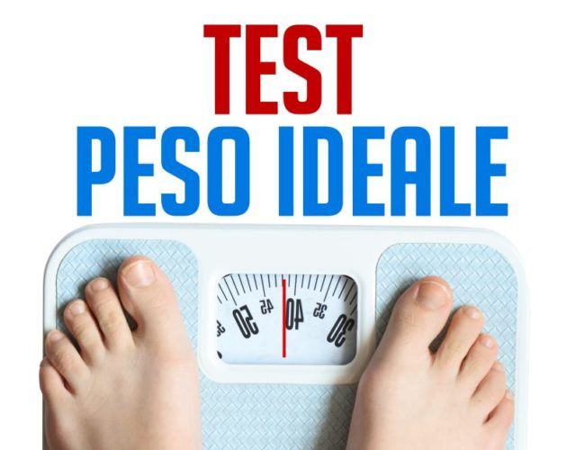 test peso ideale