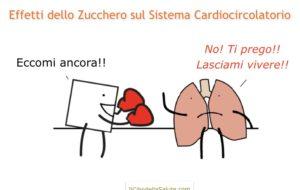Lo zucchero danneggia il sistema cardiocircolatorio… Vediamo come