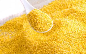 Il Miglio giallo come il Sole. Va lavato bene: sapete perché?