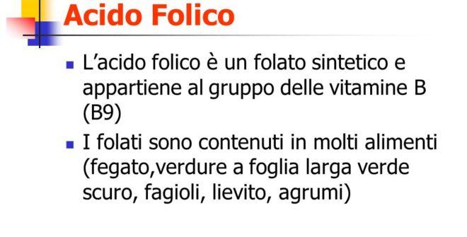 Acido Folico, Folati, Vitamine del Gruppo B… Facciamo chiarezza!!!!