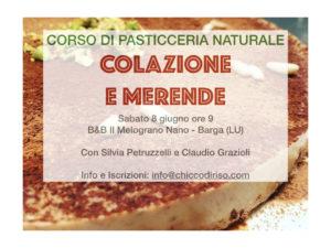 Pasticceria naturale senza zucchero @ B&B Il Melograno Nano