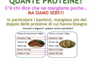 Quante proteine?