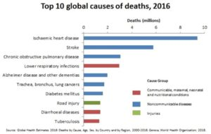 Cardiopatie e  ictus ischemici sono i più grandi assassini!