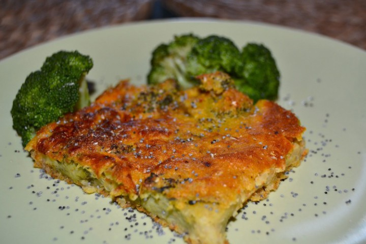 Frittata Vegan con broccoli