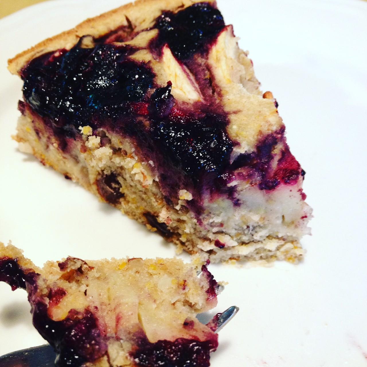 Torta di Grano Saraceno gluten free